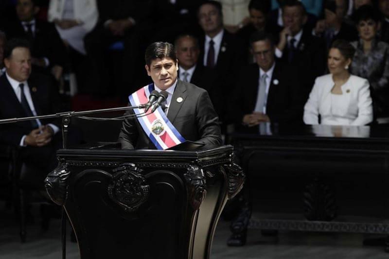 Costa Rica Presidente
