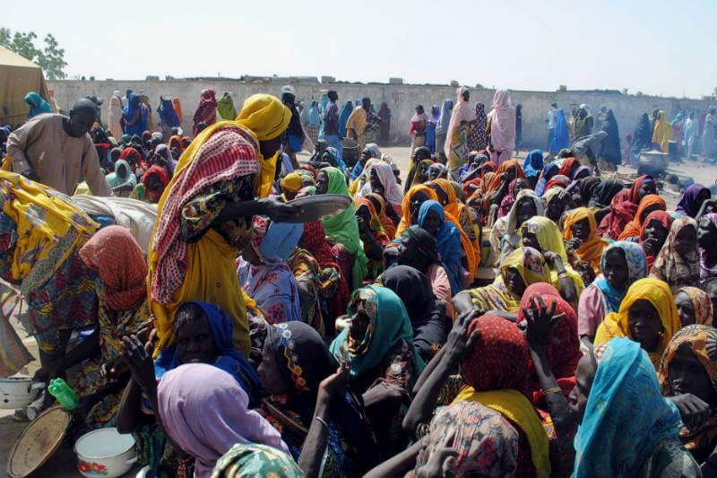 Violencia terrorista, cambio climático, inseguridad alimentaria son los desafíos que enfrentan los refugiados y desplazados en Nigeria y región del Lago Chad.