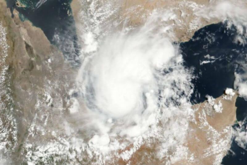 La OCHA informó que al menos 16 personas han muerto en Somalia y en Yibuti decenas de miles de personas se vieron afectadas por el ciclón tropical Sagar.