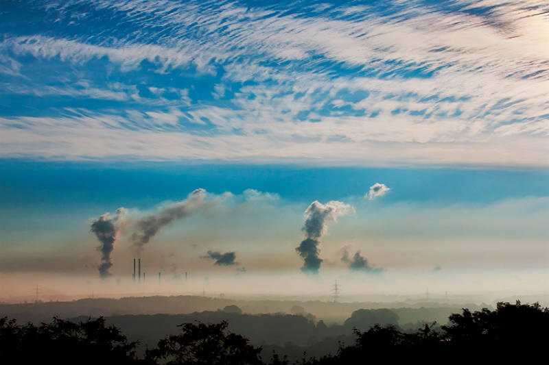 La lectura del Observatorio Mauna Loa en Hawái encontró que las concentraciones de CO2 promediaron más de 410 partes por millón a lo largo de abril.