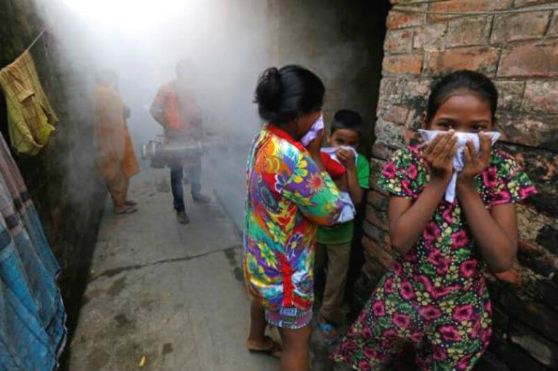 Según un estudio, más de tres millones de casos de fiebre del dengue podrían evitarse anualmente si el calentamiento global se limita a 1.5°C.