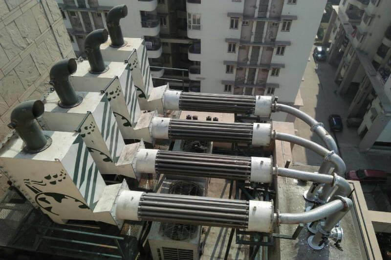 Un equipo de ingenieros indios encontraron la forma de capturar el hollín de los generadores diésel y venderlo a los fabricantes de tinta.