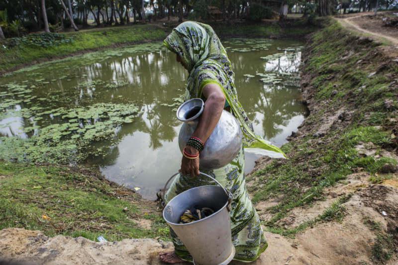 """""""Las mujeres están en primera fila de las consecuencias del cambio climático y, por lo tanto, en la vanguardia de la acción climática"""", Natalie Samarasinghe."""
