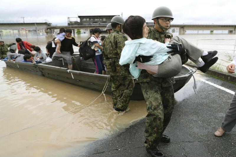 Más de 300 personas murieron en julio por desastres relacionados con el clima en Japón: 220 por las fuertes lluvias y 116 por el calor extremo.