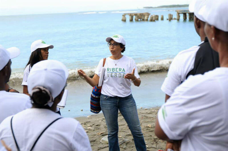 El programa de la Fundación Tropigas busca proteger el medio ambiente y mejorar la calidad de vida de las comunidades cerca de los ríos Ozama e Isabela.