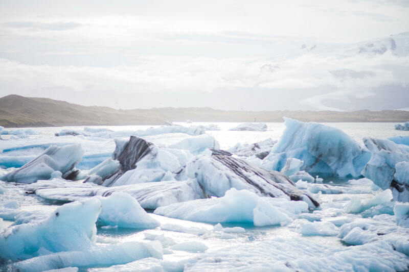 Adrienne White indica que de 1,773 glaciares, unos 1,353 se redujeron significativamente entre 2000 y 2016.