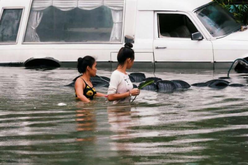 Los daños se deben al embate de las tormentas tropicales Son-Tinh y Ampil, y una depresión tropical que azotó el país.