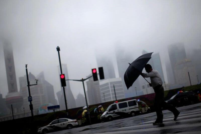 Casi cuatro millones de personas han resultado afectadas en el centro y este del país. La ciudad más afectada, Xuzhou, con 7 víctimas y 18 heridos.