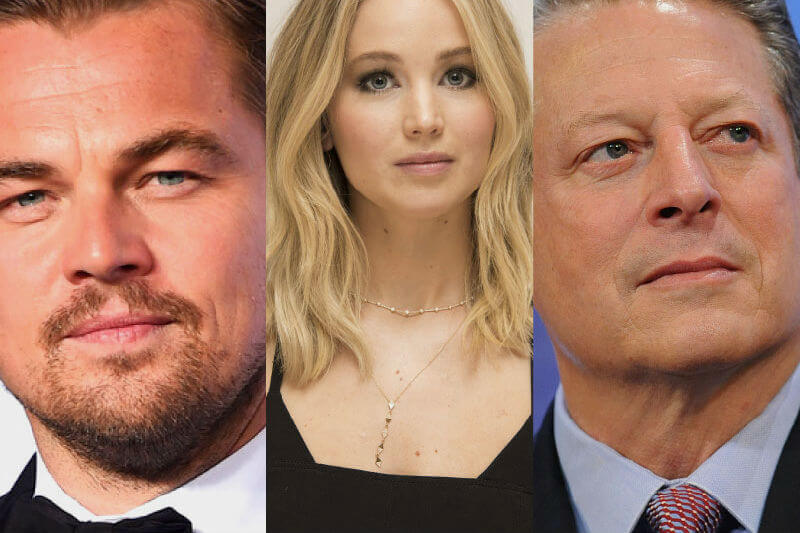 Leonardo Di Caprio, Al Gore y Jennifer Lawrence: Cine y acción climática