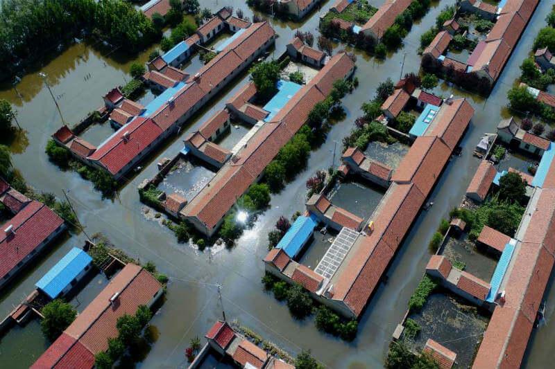 Fuertes inundaciones en la provincia de Shandong cobraron la vida de 14 personas y una pérdida económica de 10 billones de yuanes.