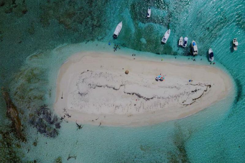 El islote Palominito está por convertirse en historia a causa de la erosión que arrastra su arena y el aumento del nivel del mar, causa del cambio climático.