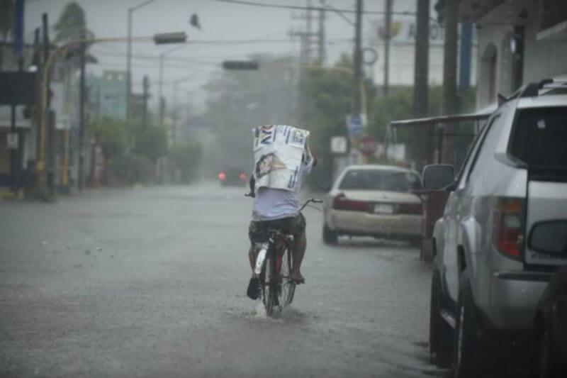 El huracán no dejó víctimas pero sí inundaciones, desbordó ríos y provocó daños generales limitados a su paso por el noroeste del país.