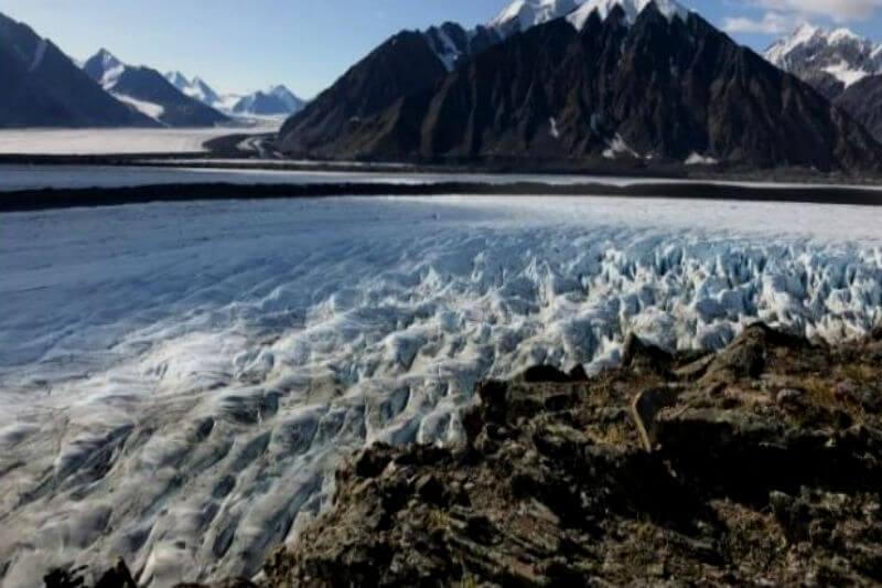 Estudios sugieren que los glaciares en las montañas de San Elías están perdiendo más hielo que en cualquier otra área alpina canadiense.