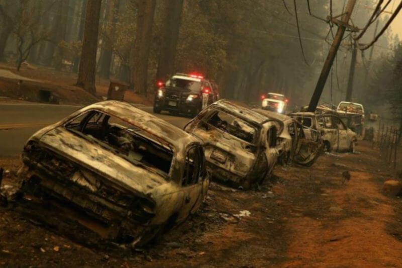 El incendio, que comenzó el 8 de noviembre, ha destruido unas 14,000 viviendas, más de 500 negocios y otros 4,250 edificios.