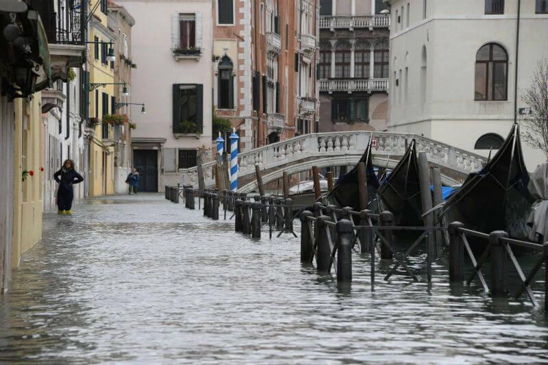 Según la Agencia Nacional de Protección Civil, las fuertes lluvias y los potentes vientos que azotaron a Italia dejaron un total de 9 víctimas.