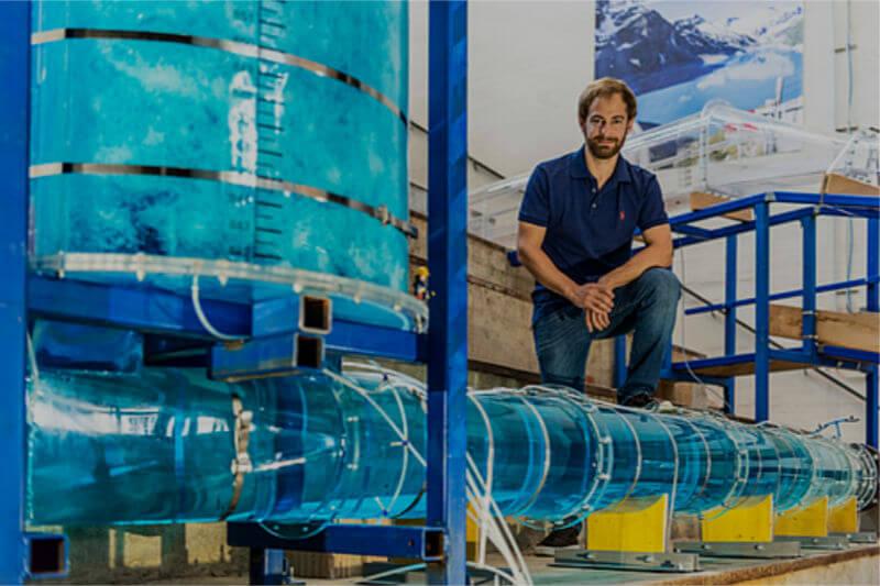 Un sistema desarrollado en la Universidad de Tecnología de Graz, Austria, usa el agua como medio de almacenamiento eléctrico y térmico.