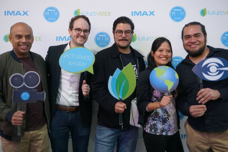 Hoy se presentaron los tres proyectos audiovisuales participantes en un cine IMAX de la Ciudad de México y se nombró al ganador de las votaciones recientes.