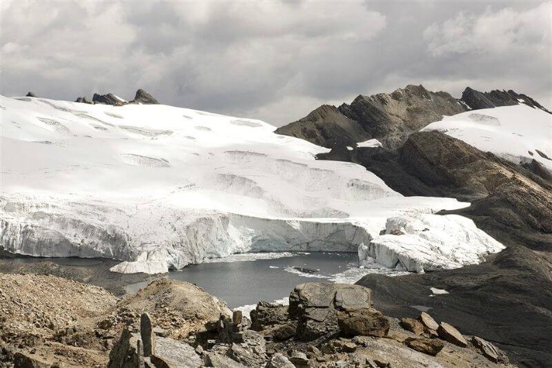 Una ruta en los Andes peruanos tiene como objetivo mostrar los efectos que está causando el cambio climático en el medio ambiente.