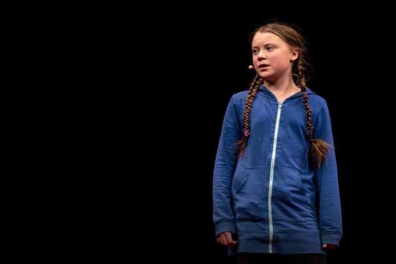 La joven sueca, símbolo del activismo estudiantil por el cambio climático y promotora de la campaña Climate Strike, participó en la conferencia de Davos.