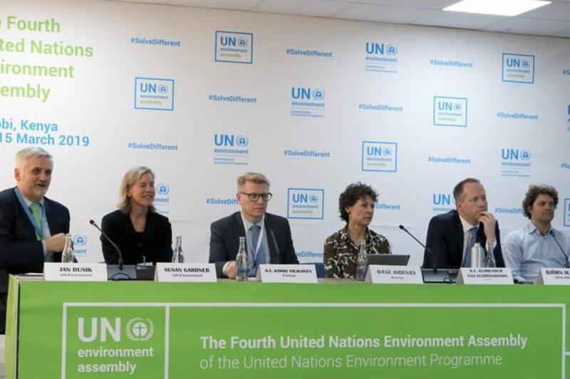 """La UNEA-4 aprobó en Nairobi una declaración ministerial final para """"aumentar"""" los esfuerzos mundiales y atajar """"desafíos medioambientales comunes""""."""