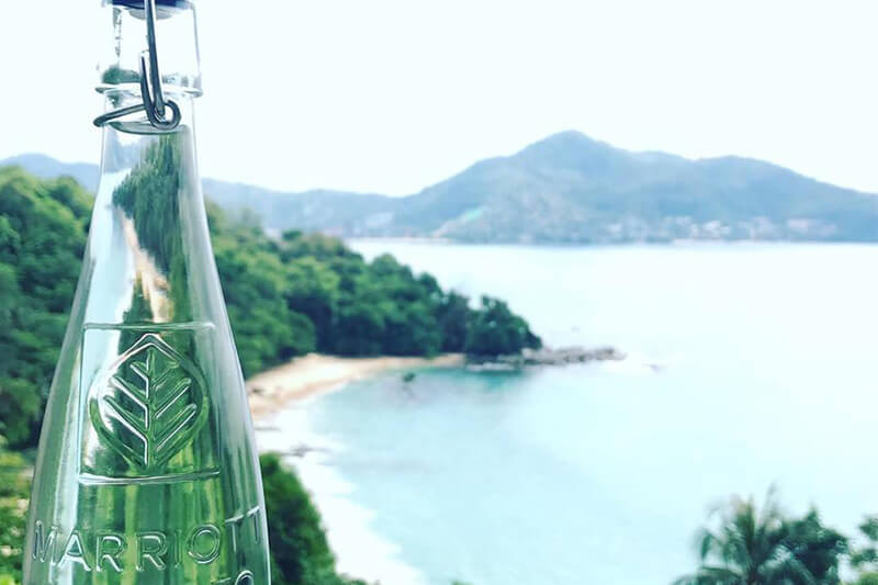 Green Water y Marriot transforman aire en agua