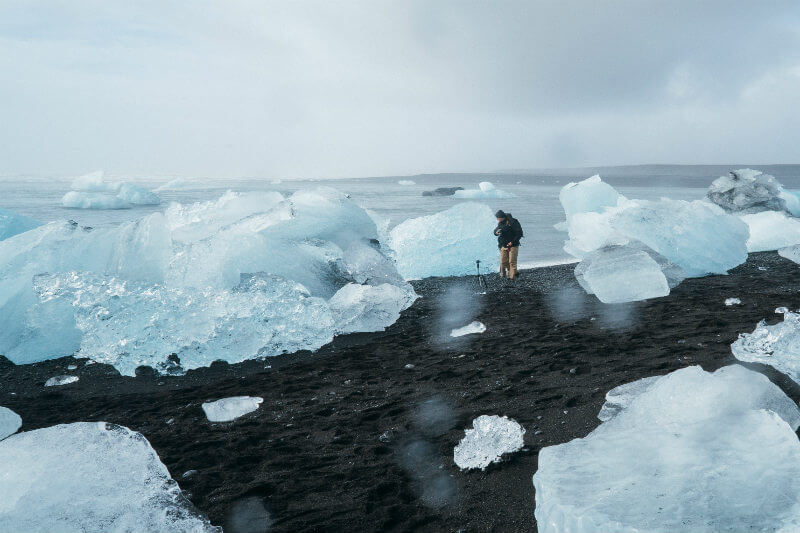 Equipo de investigadores han identificado contaminación de microplástico en el Glaciar de Forni, en los Alpes, Italia.