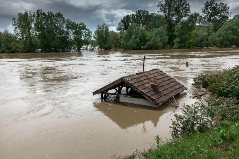 Ciclón azota Mozambique con fuertes lluvias.