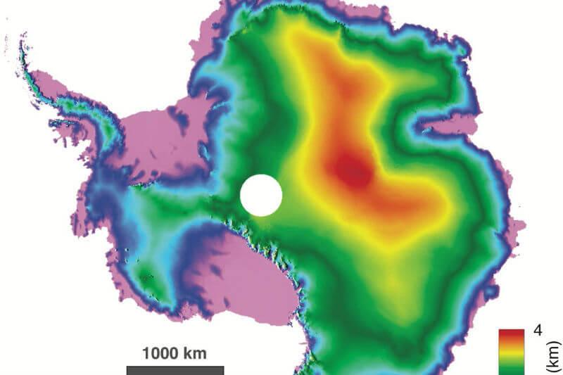 Mapa muestra - Foto por Universidad de Edimburgo