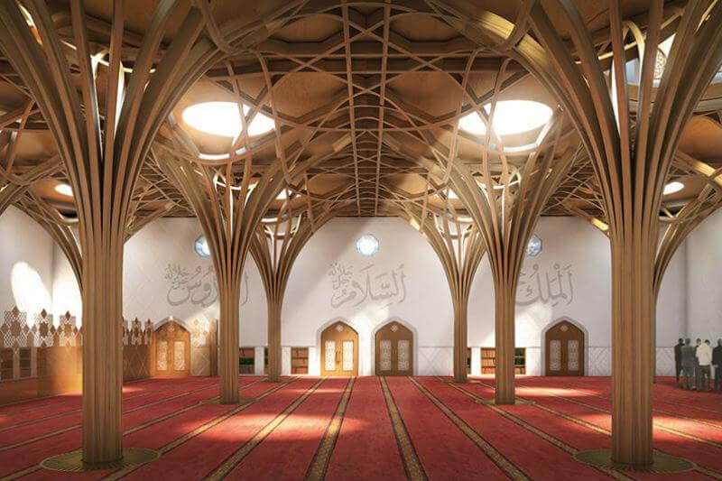 La primera mezquita verde de Europa espera aprovechar el poder del Islam para hacer frente al cambio climático.