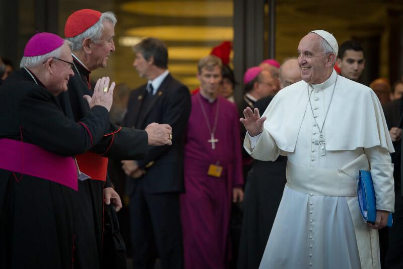 El Pontífice se dirigió a los líderes de las organizaciones con responsabilidad climática.