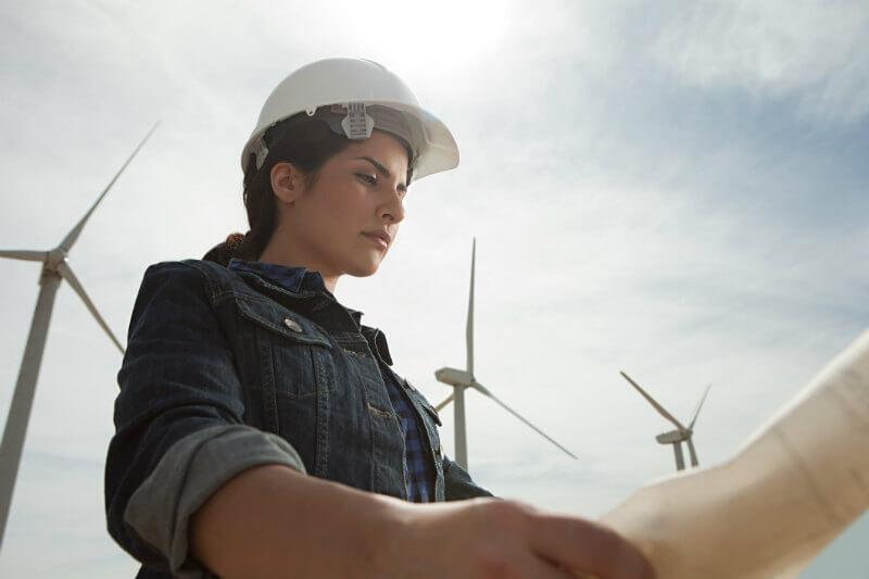 Se proyecta que los empleos de técnicos en aerogeneradores serán la segunda ocupación con mayor crecimiento hasta el 2026.