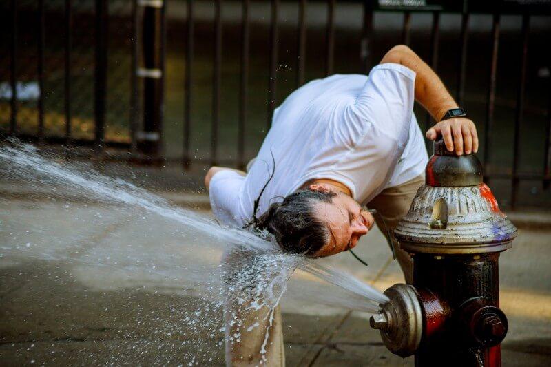 Los 53.9°C en Mitribah, Kuwait, en 2016 se consideraron los más calurosos registrados en Asia.