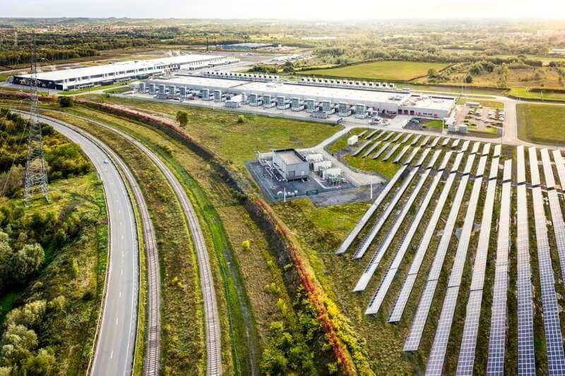 La compañía ha comprado suficiente energía limpia para igualar por completo el uso global anual de electricidad de sus instalaciones.