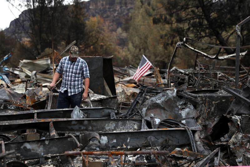 Según estudio, los incendios forestales en California han aumentado ocho veces su tamaño desde principios de la década de 1970.