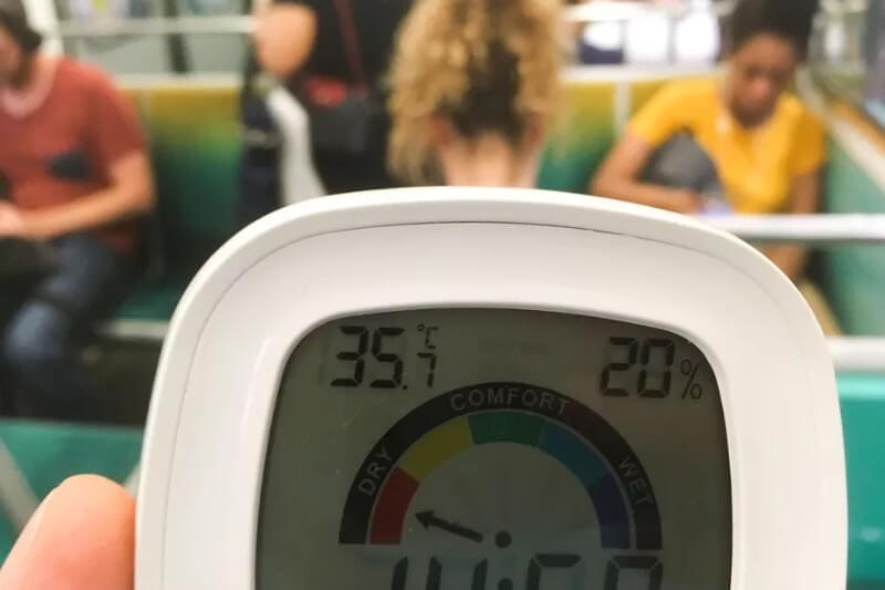 Temperaturas aumentaron con un rango de alrededor de 0.10°C más alto que el del récord anterior.