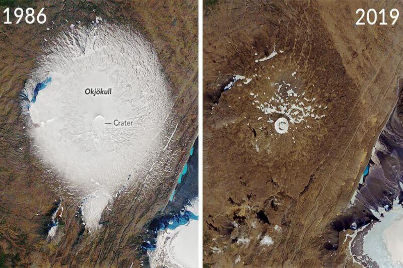Se prevé que en los próximos 200 años todos los glaciares sigan el mismo destino que Okjökull, el primer glaciar declarado muerto.