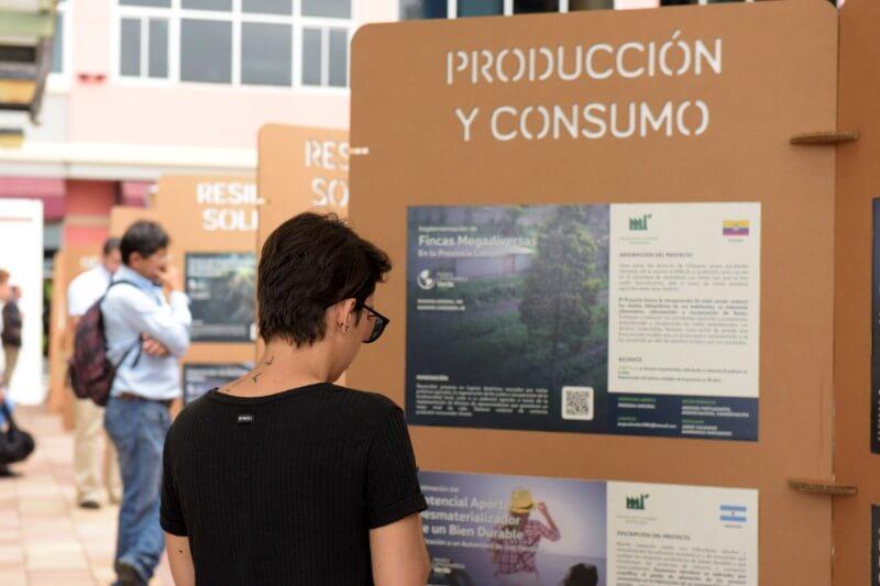 Se expondrán 500 proyectos socioambientales de América Latina y el Caribe, un espacio de moda sostenible y un parque hecho con llantas recicladas.