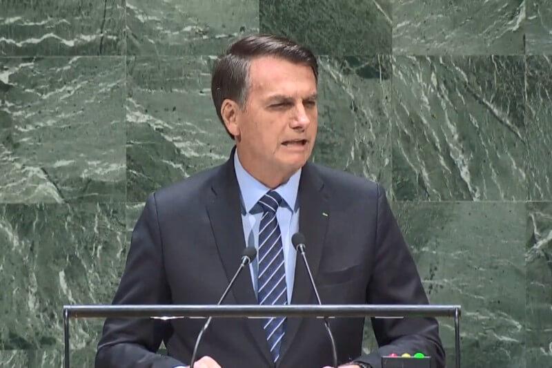 La apertura del evento estuvo a cargo del presidente de brasil quien no acudió un día antes a la Cumbre de Acción Climática