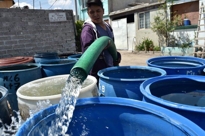 Debido a la falta de lluvia las presas no lograron almacenar suficiente agua.