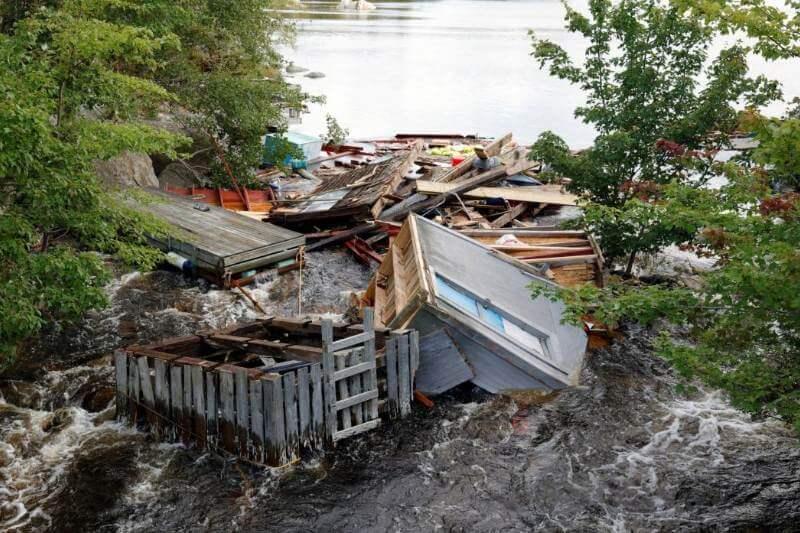 Los datos del satélite indicaban que Dorian amenazaba este fin de semana con condiciones de ciclón a Nueva Escocia, Canadá.