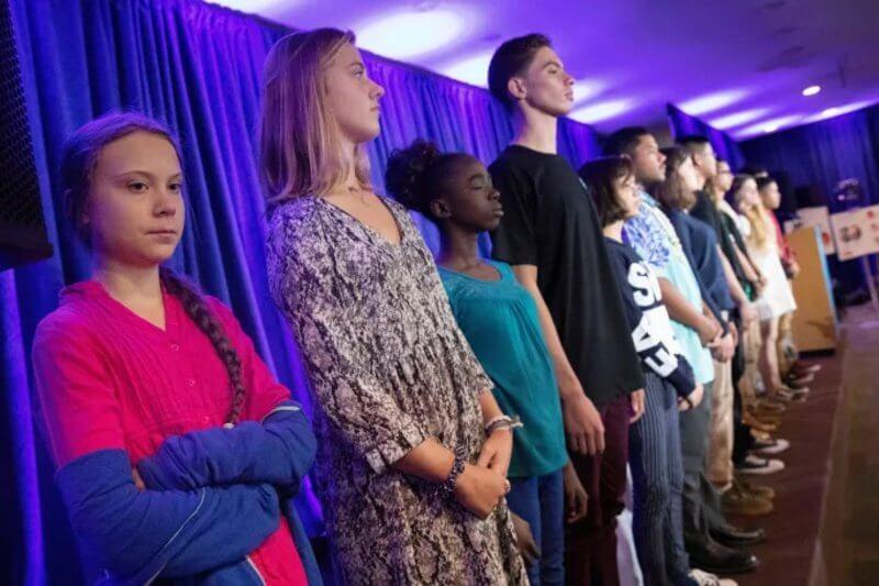 Los jóvenes demandaron estos países por contaminar el planeta con dióxido de carbono, violando así los derechos de los niños.
