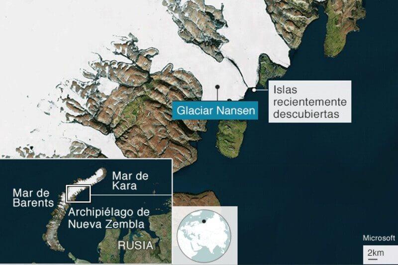 Una joven estudiante realizó el hallazgo desde el 2016 hasta que finalmente fue confirmado con un mapeo cartográfico en el archipiélago de Nueva Zembla.