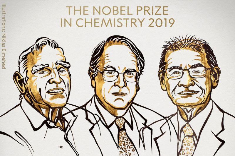 El premio se otorgó a John B. Goodenough, M. Stanley Whittingham y Akira Yoshino por su investigación en la mejora de la tecnología de baterías.
