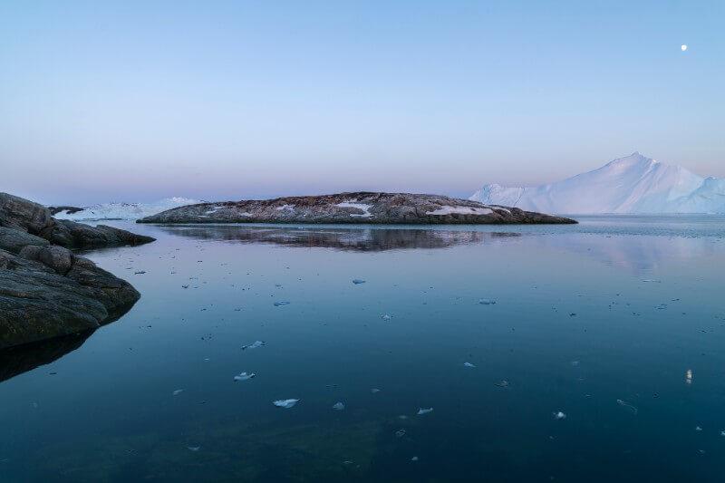 La cubierta de hielo en torno al polo norte fue un 32.2% menor para un mes de octubre que durante el promedio entre los años 1981 y 2010.