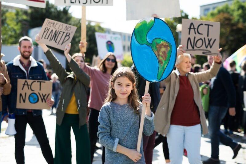 Los lexicógrafos de Collins notaron un aumento de cien veces en el uso de la huelga climática en 2019, la mayor de todas las palabras en su lista.