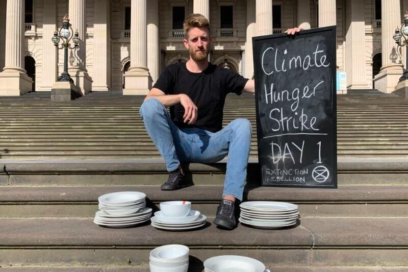 Más de 300 activistas en 26 países rechazarán alimentos durante al menos una semana para presionar a los gobiernos del mundo a tomar acción climática.