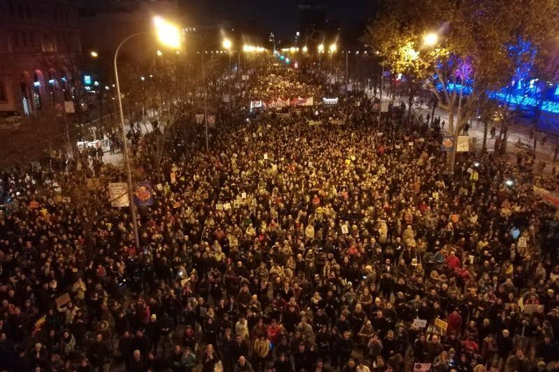 Marcha por el Clima se hace presente en la COP25 con sede en Madrid.