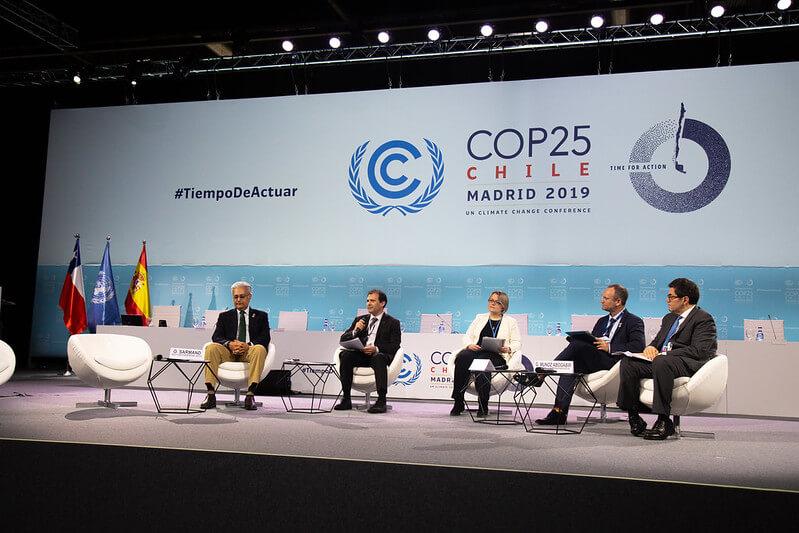 Cobertura del tercer día de la Cumbre del Clima en Madrid.