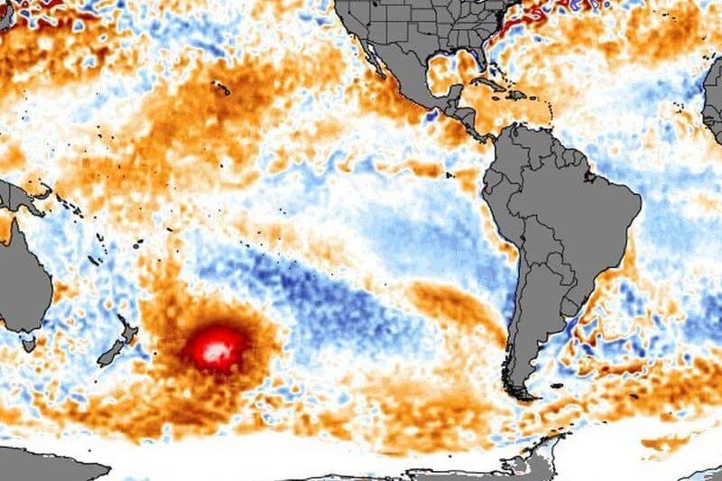 Es tan grande que ocuparía un poco más de la mitad de México o cinco veces la superficie de El Salvador.