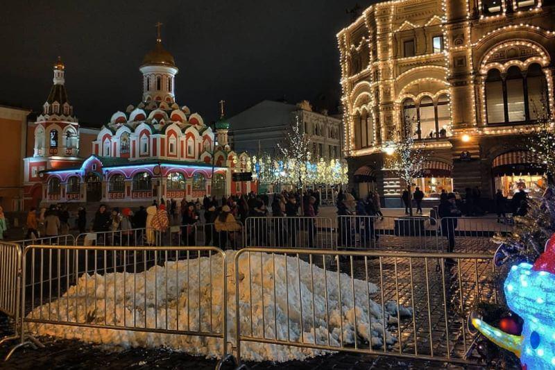 Las temperaturas en la capital rusa se han situado unos 6.8 grados por encima de la norma